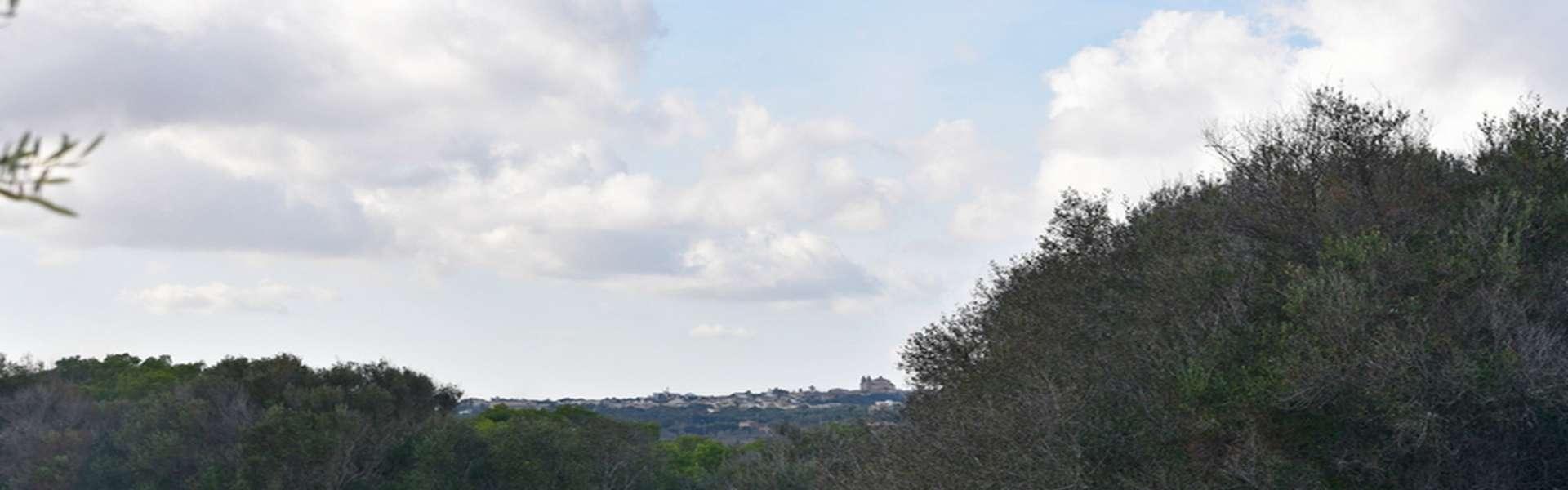 Grundstück mit Weitblick und bestehender Baugenehmigung in Alqueria Blanca