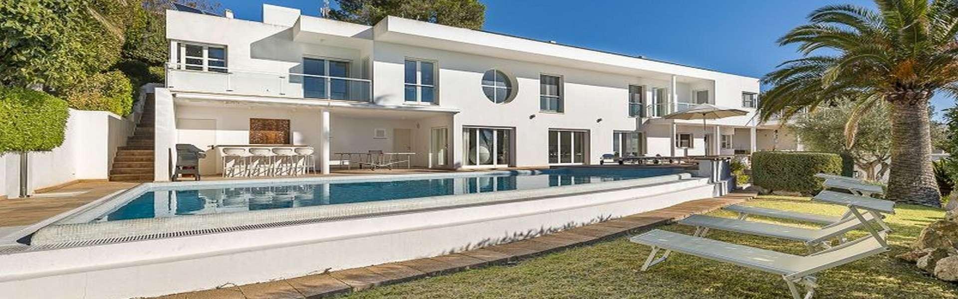 Santa Ponsa - Großzügige Villa in Top-Lage mit Meerblick & Ferienvermietungslizenz