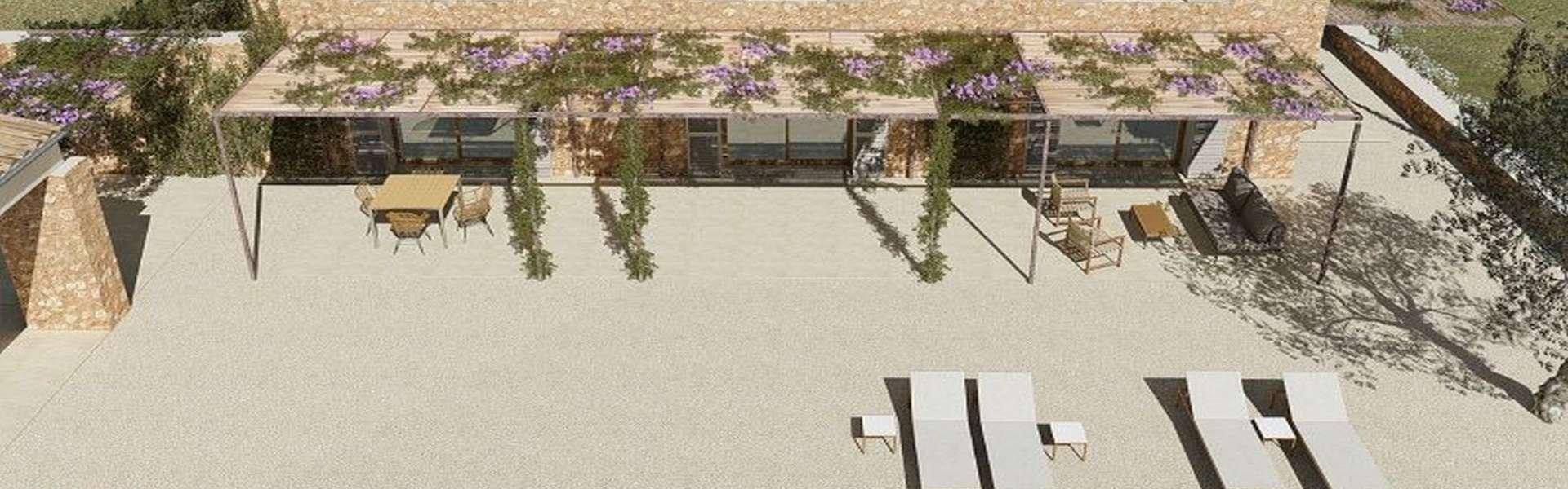 Finca-Grundstück mit genehmigtem Projekt zwischen Santanyí und Cas Concos