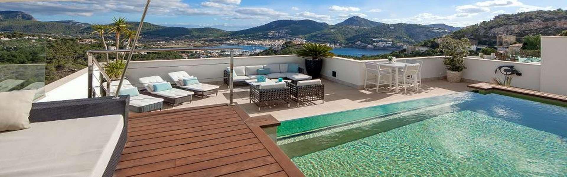 Port d'Andratx - Modernes und exklusives Penthouse zum Verkauf