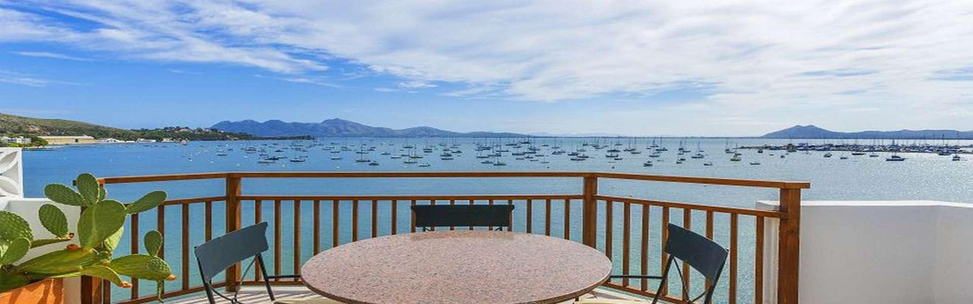 Puerto Pollensa – Luxus Penthouse in erster Linie