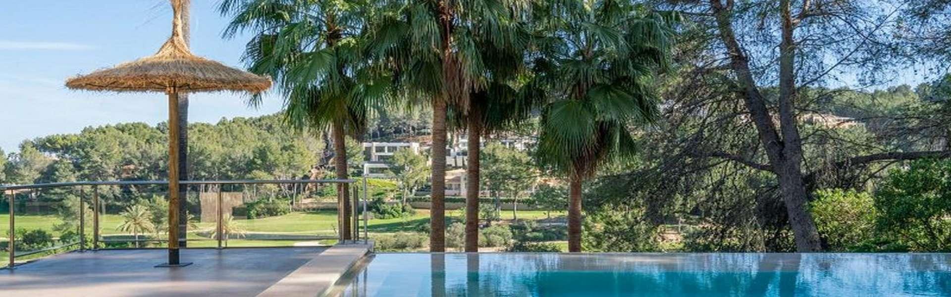 Palma/Son Vida - Traumhafte Villa mit Blick auf den Golfplatz