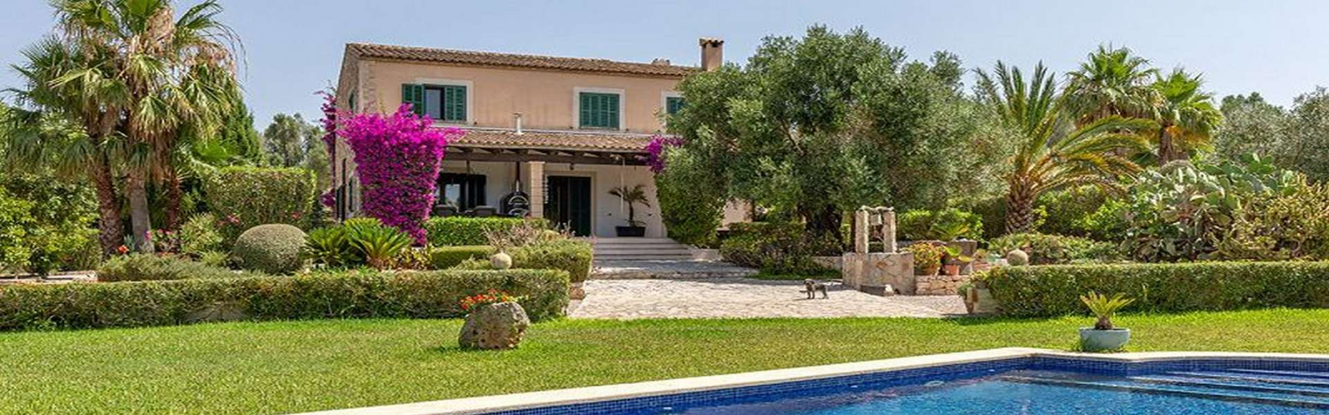 Traumhafte Finca mit Pool in Porreres