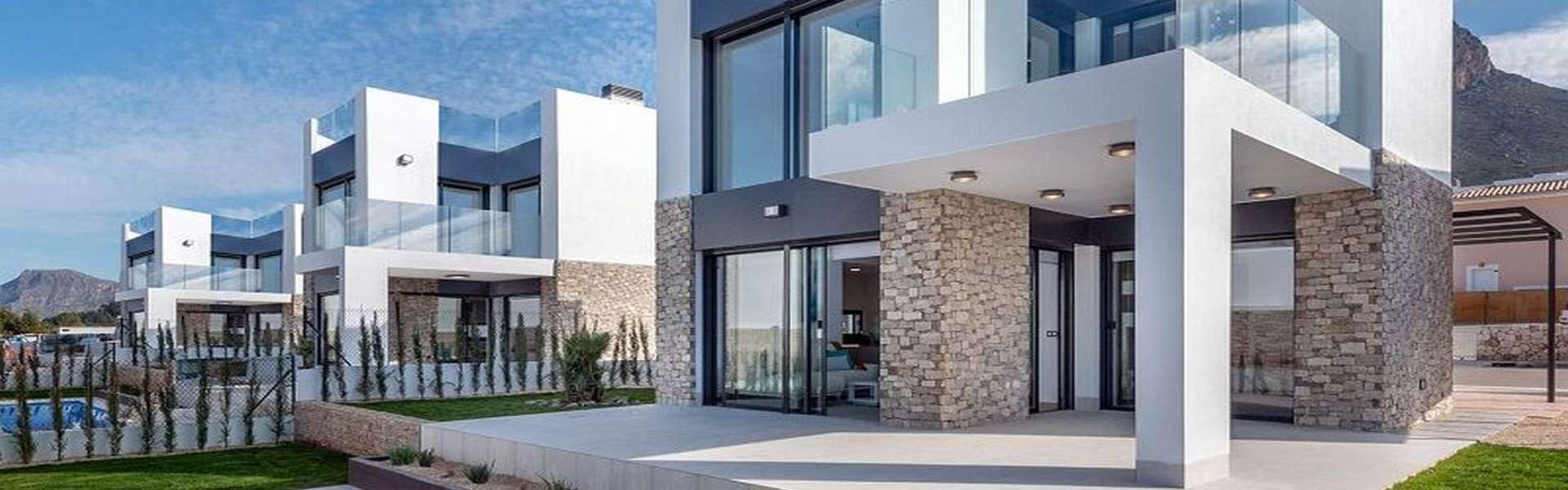Colònia de Sant Pere - Freistehende Luxus-Villen mit Meerblick in unmittelbarer Strandnähe