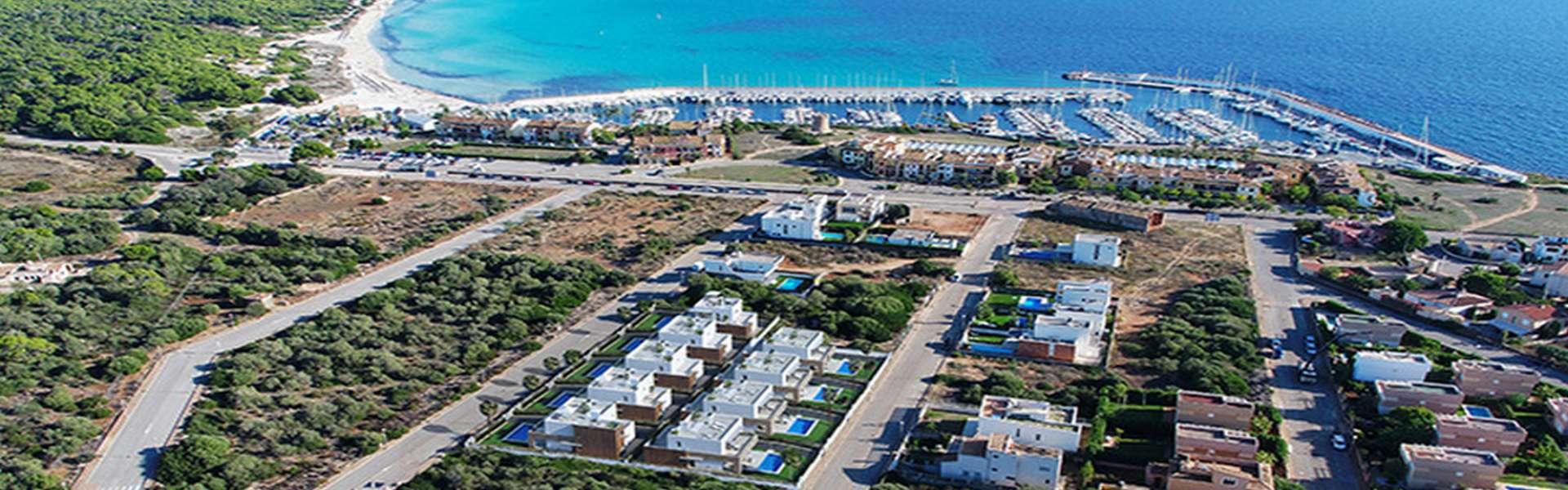 Luxus-Villa in unmittelbarer Strandnähe in Sa Ràpita